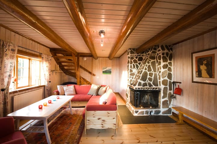 Beautiful cottage/lodge mountain - Torsby - Cabin