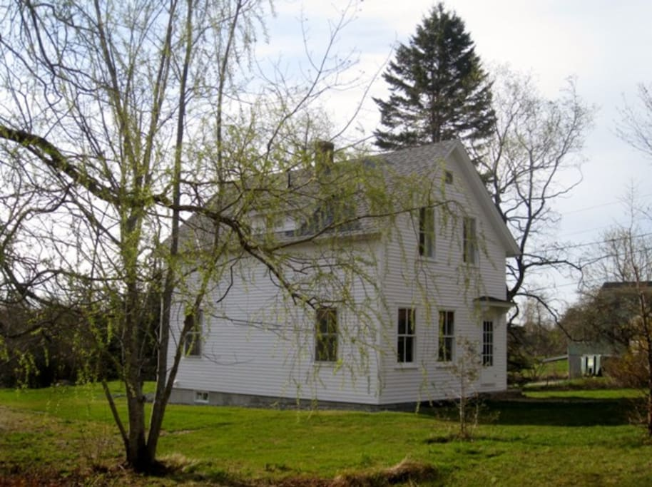 The house in spring