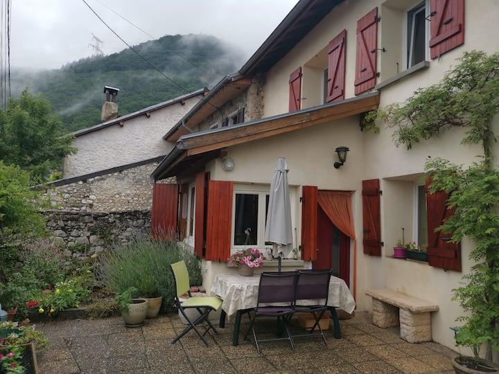 Maison en campagne sur les hauteurs de Grenoble