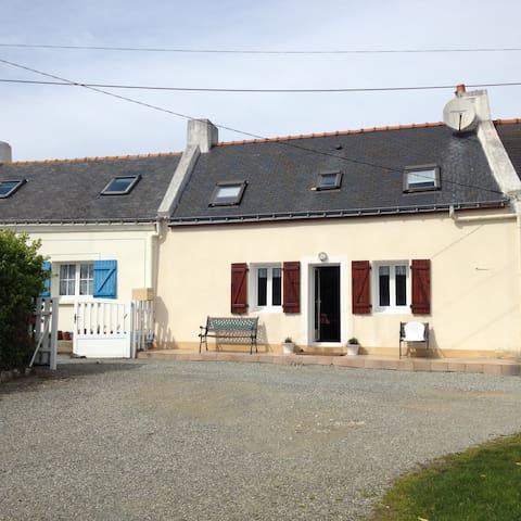 Maison de pêcheur Kérel - Bangor - Rumah