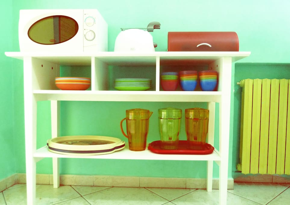 Kitchen Table              http://www.hostelpensionemancini.com/camere.aspx?ID=1