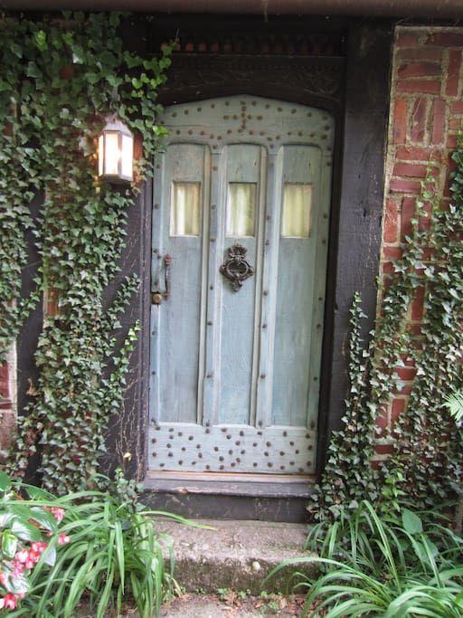 Your cottage's front door.