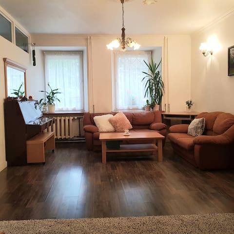 Spacious extraordinary apartment with piano
