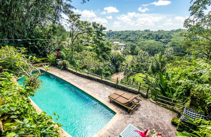 Sleep in Bali's iconic house