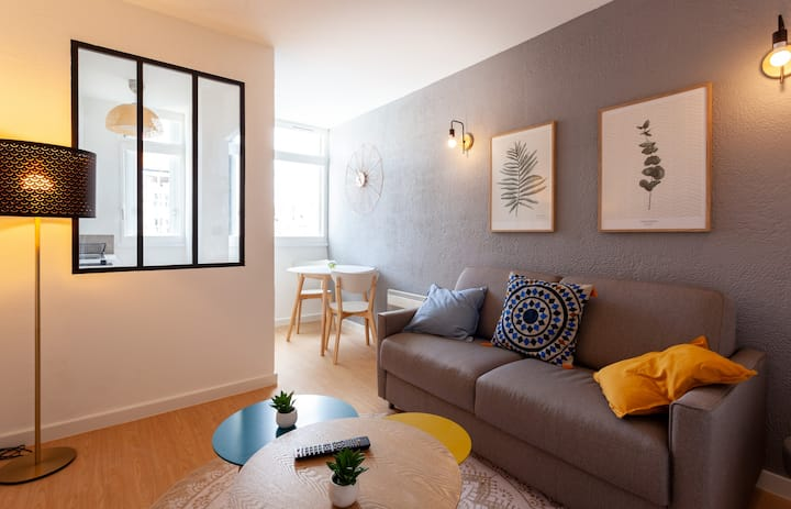 Luxury studio at the heart of Marseille, 5 min to the Old Port - Welkeys