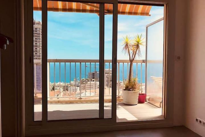 Beausoleil - Monaco Sea View Apartment 2 Rooms