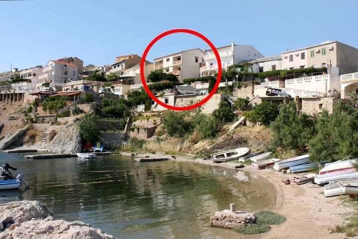 One bedroom apartment with terrace and sea view Zubovići, Pag (A-4066-a) - Zubovići - Outros