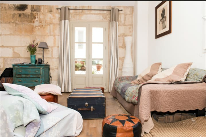 LARGE CHARMING STUDIO IN THE HISTORICAL CENTRE OF MONTPELLIER