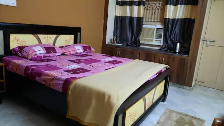 Sai Krishna Residency - II  Entire Flat Double Bed