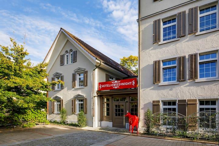Einzigartiges Swissstyle Hotel an ruhiger Citylage