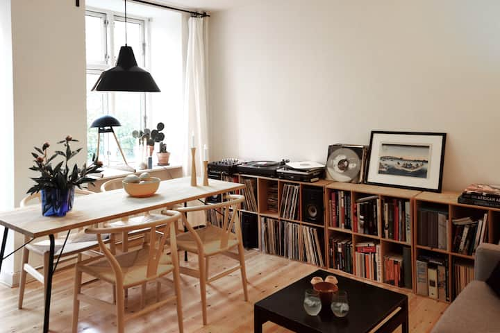 Beautiful apartment, Central Nørrebro