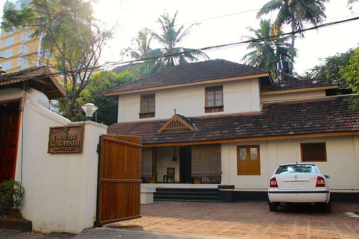 KURUPPATH HERITAGE HOMESTED - Thrissur - Szoba reggelivel