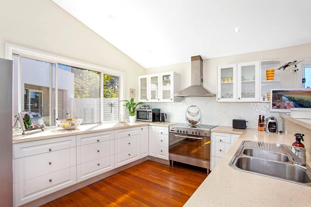 Large modern family kitchen