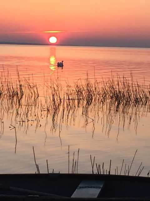 Семейный рай на берегу озера