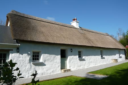 Hawthorn Cottage - Thatched Cottage - Laois - Casa