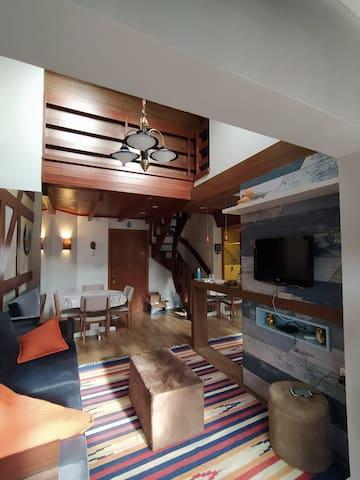 Apartamento Duplex em Gramado
