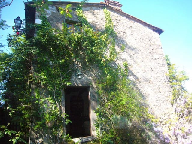 LITTLE STONE COTTAGE IN THE COUNTRYSIDE OF LUCCA