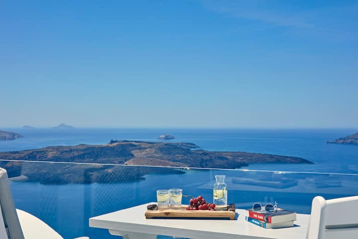 Double Room with Caldera View - Firostefani