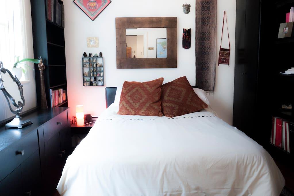 Far Eastern style double bedroom