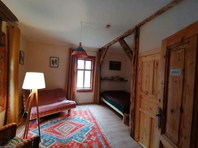 Uroczy apartament Śnieżka nad potokiem