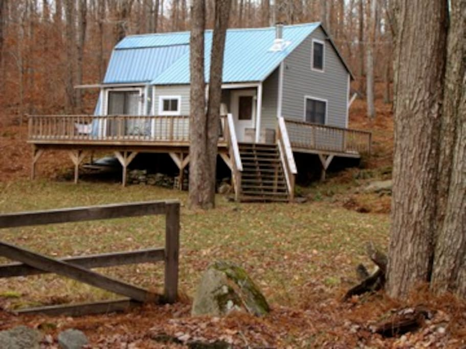 Peaceful Mod Cabin In The Catskills Cabins For Rent In