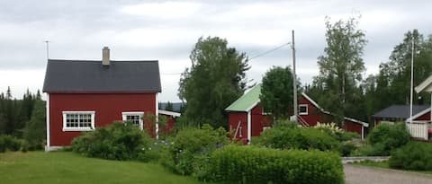 Gamlestua on the farm Norderhaug