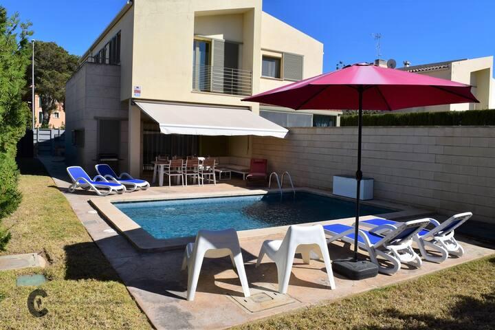 Villa Carpe Diem-Chalet Cerca Playas Arena Blanca