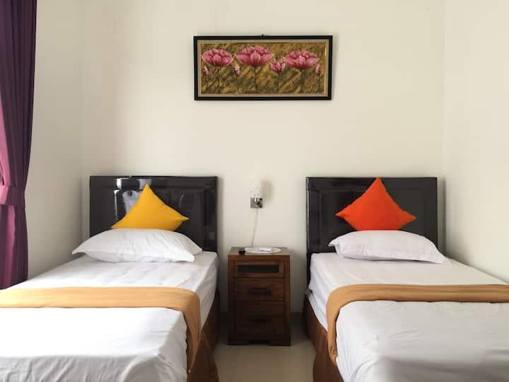 Cozy Double Beds Deluxe Rooms C