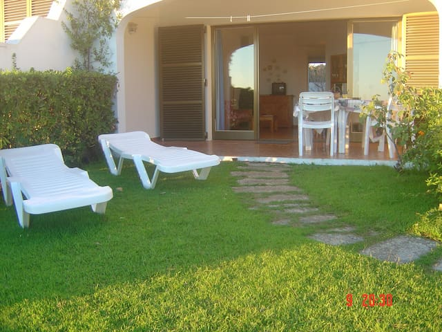 Apartamento Playa Son Bou, Familiar/Piscina/vistas - Son Bou - Leilighet