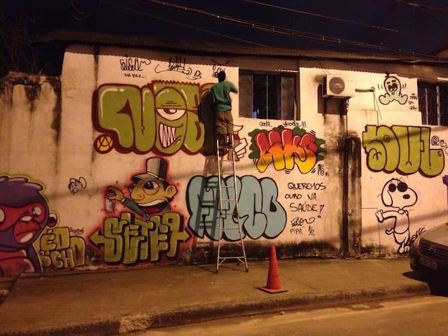 Igual Hostel-Lado do Sambódromo e Farra  Carnival - Rio de Janeiro - Rumah