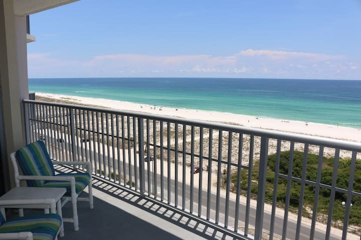 1030-Large Balcony with Direct Views of the Gulf