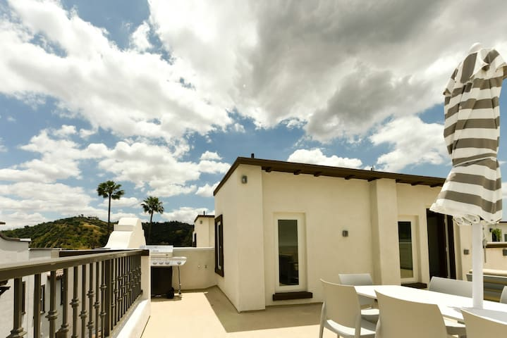 *Sanitized* Highland Park 4-Lvl Home Rooftop Patio