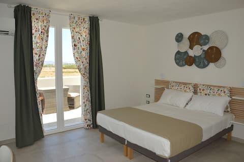 Apartament w pobliżu morza Kolory Morza Śródziemnego