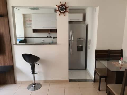 Apartamento 2 dormitório - Muito aconchegante
