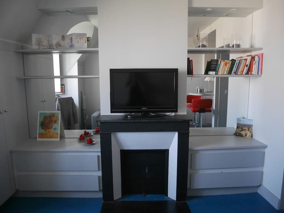 Nice and well organised studio