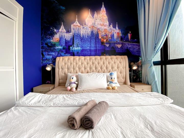 🔑【Mickey Suite】🏠〖Sunway Xpark 🚗 Johor Bahru〗❤️