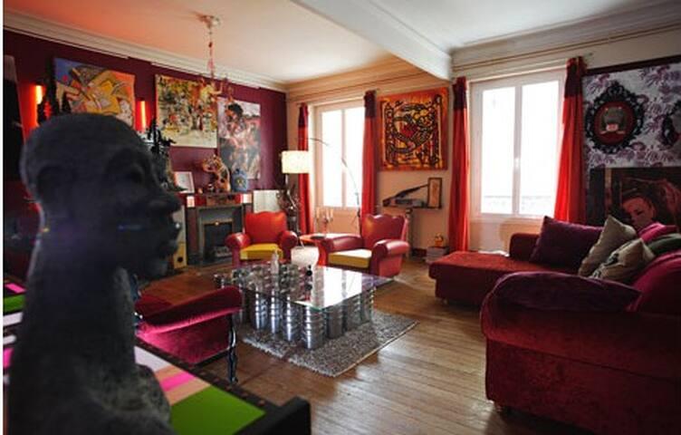 Lieu artistique d'exception - Bordeaux - Apartament