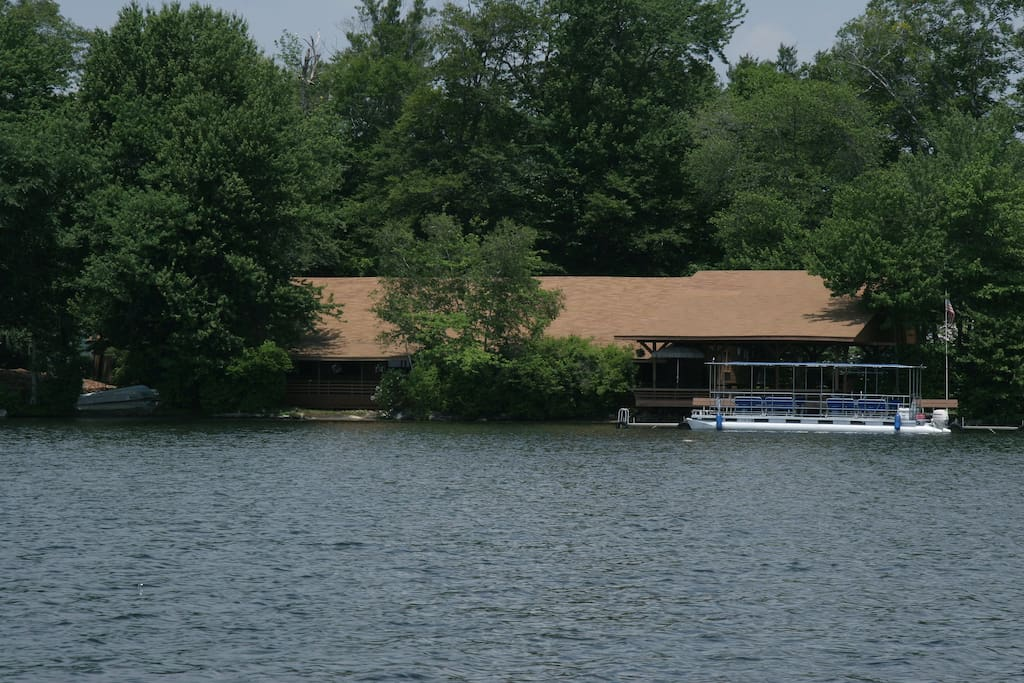 The Lodge from the lake