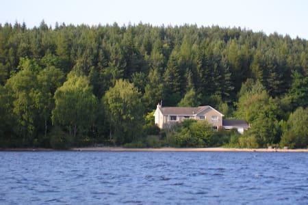 Lochside Retreat - Rannoch, Highland Perthshire - Pitlochry - Haus