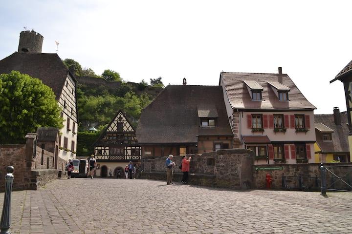 2 pièces au centre de Kaysersberg