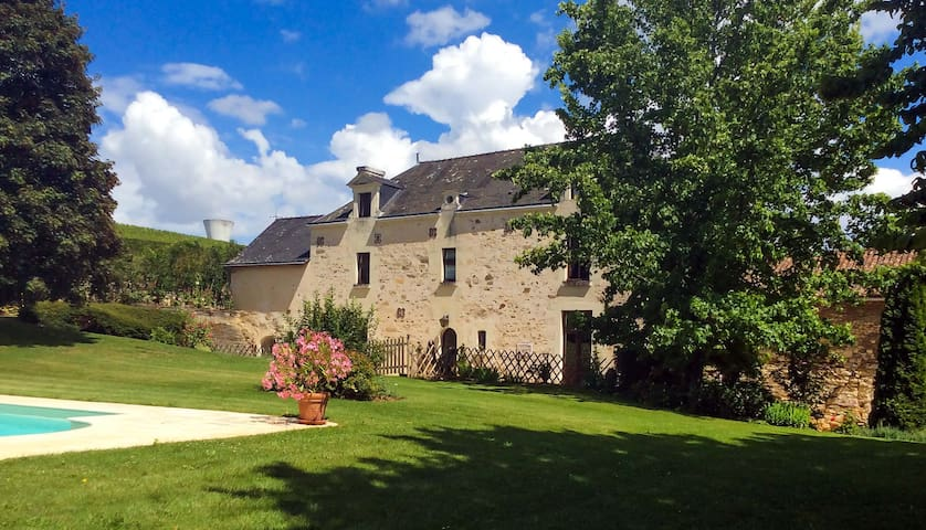 Allouette Gite @ Manoir Savonniere - Les Verchers-sur-Layon - Bed & Breakfast