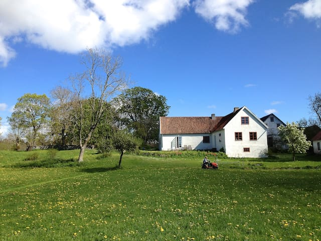 Underbart kalkstenshus på Gotland - Klintehamn - Hus