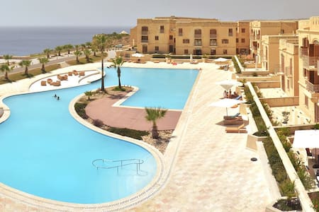 Gozo new apartment+pool+free wifi