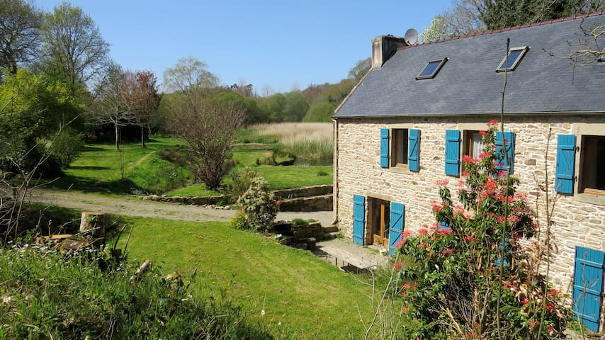 Beautiful gîte close to the sea and Douarnenez - Poullan-sur-Mer - Talo