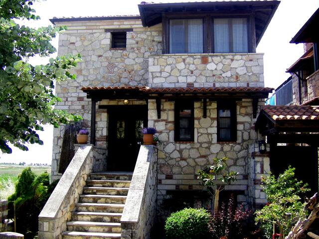 THE STONE HOUSE- SUMMER AND WINTER - Chalkidiki - Haus