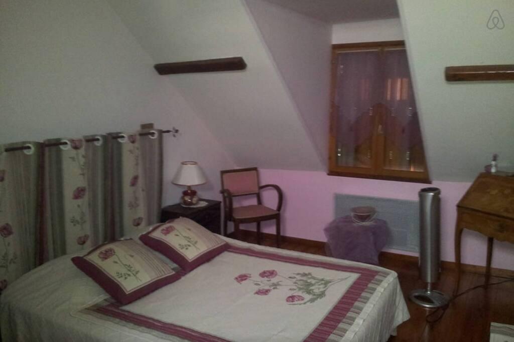 chambres d 39 h tes orchid e jacuzzi maisons louer neuvy sur barangeon centre france. Black Bedroom Furniture Sets. Home Design Ideas