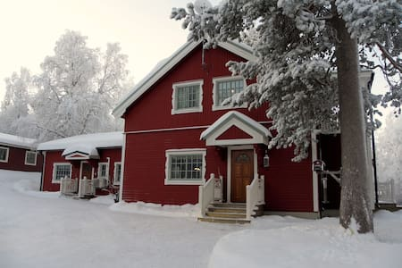 House in Porjus, Swedish Lapland - Porjus