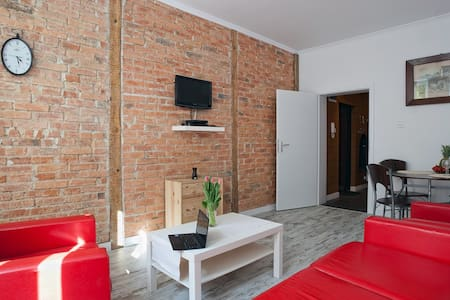 Old town 2bedroom family apartment - Gdańsk Główny