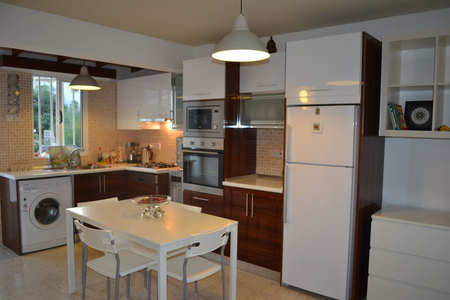 Kitchen is very modern and useful