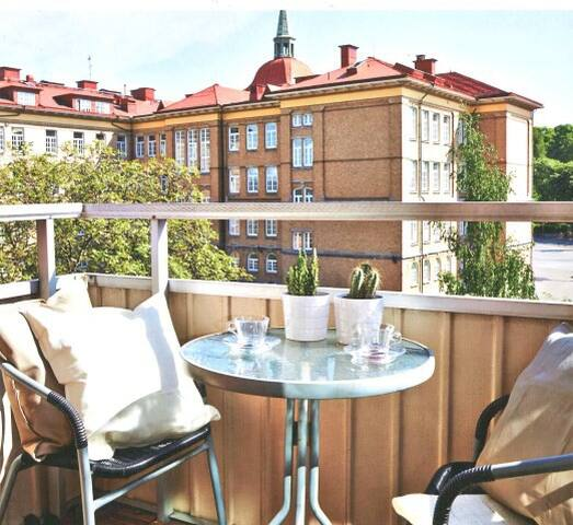 Two room apartment, balcony south! - Gøteborg